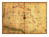 Bahamas - Panoramic Map