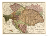 Austria-Hungary - Panoramic Map