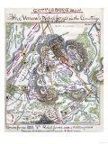 Battle of Gettysburg - Civil War Panoramic Map
