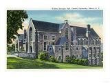 Ithaca  New York - Exterior View of the Willard Straight Hall  Cornell University