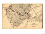 Battle of Chancellorsville - Civil War Panoramic Map