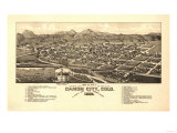 Colorado - Panoramic Map of Canon City