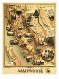 California - Panoramic Map