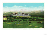Bretton Woods  NH - Mt Washington Hotel  Presidential Range in September
