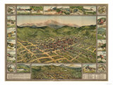 Colorado - Panoramic Map of Cripple Creek No 2