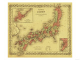 Japan - Panoramic Map