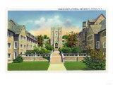 Ithaca  New York - Cornell University Baker Court Scene