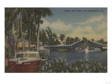 Ft Lauderdale  FL - New River View &amp; Drawbridge