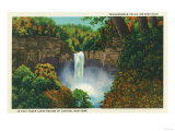 Ithaca  New York - View of Taughannock Falls  215 Feet High
