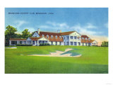 Bridgeport  Connecticut - Exterior View of the Brooklawn Country Club
