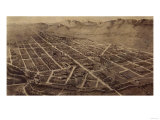 Colorado - Panoramic Map of Fort Collins No 2
