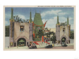 Hollywood  CA - View of Grauman's Chinese Theatre