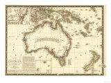 Australia - Panoramic Map