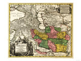 Iran - Panoramic Map