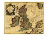 Great Britain - Panoramic Map