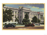 Bakersfield  California - View of the Kern County Court House