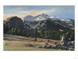 Estes Park  Colorado - Longs Peak View