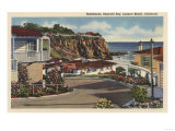 Laguna Beach  California - View of Emerald Bay & Residences