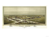 Fort Reno  Oklahoma - Panoramic Map