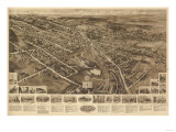 Goshen  New York - Panoramic Map