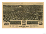 Kearney  Nebraska - Panoramic Map