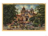 Carmel  CA - Mission San Carlos de Borromeo de Monterey