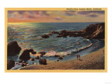 Laguna Beach  California - View of Wood's Cove