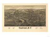 Canton  New York - Panoramic Map