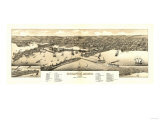 Duluth  Minnesota - Panoramic Map