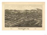 Frankfort  New York - Panoramic Map