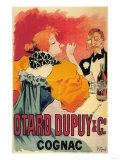 France - Otard-Dupuy & CO Cognac Promotional Poster