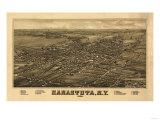 Canastota  New York - Panoramic Map