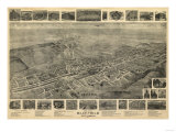 Bluefield  West Virginia - Panoramic Map