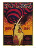 Barcelona  Spain - Soccer Promo Poster