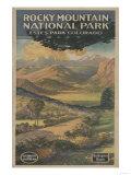 Estes Park  Colorado - Rocky Mt National Park Brochure No 1