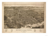 Knoxville  Tennessee - Panoramic Map