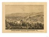 Bethlehem  Pennsylvania - Panoramic Map