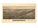 East Syracuse  New York - Panoramic Map