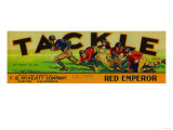 Exeter  California - Tackle Grape Label