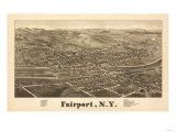 Fairpoint  New York - Panoramic Map
