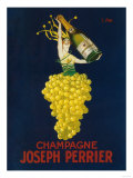 France - Joseph Perrier Champagne Promotional Poster Reproduction d'art par Lantern Press