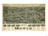 Farmingdale  New York - Panoramic Map