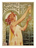 Brussels  Belgium - Robette Absinthe Advertisement Poster