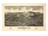 Ellenville  New York - Panoramic Map