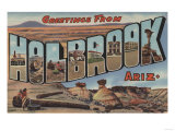 Holbrook  Arizona - Large Letter Scenes