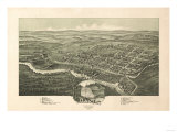 Davis  West Virginia - Panoramic Map