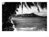 Honolulu  Hawaii - View of Diamond Head Photograph