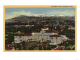 Pasadena  California - View of the Huntington Hotel