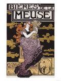Paris  France - Bieres de la Meuse Promotional Poster