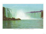 Niagara Falls  Canada - View of Horseshoe Falls